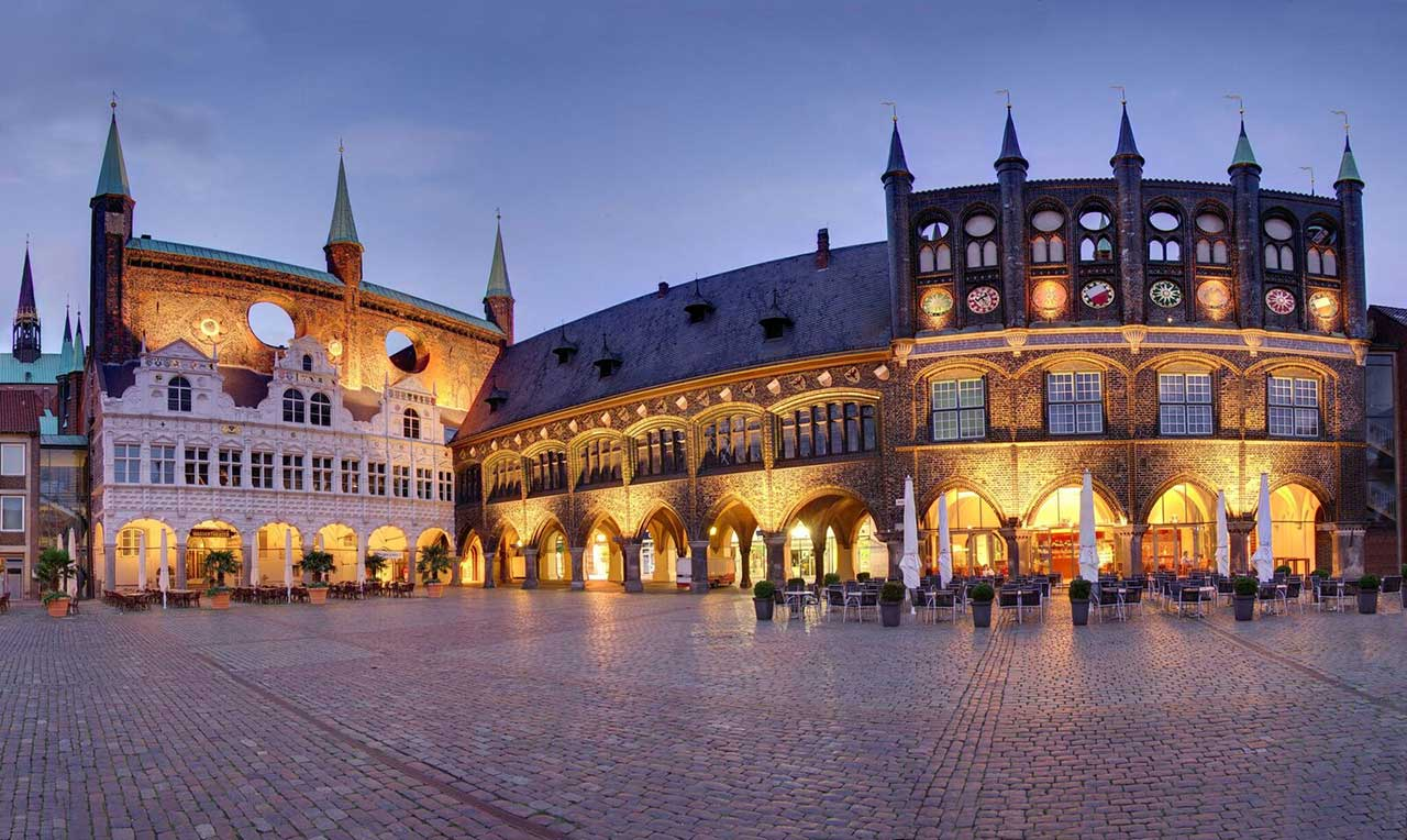 Hanseatic City Of Lbeck The Old Town